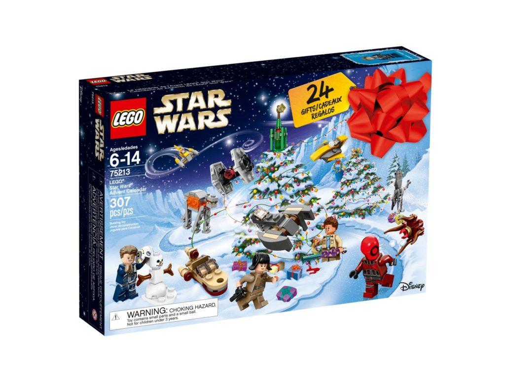LEGO® Star Wars™ Adventskalender 2018 (75213) - Packung Vorderseite | ©LEGO Gruppe