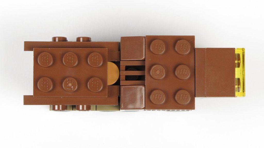 LEGO® Star Wars™ Comic 11 - Sandcrawler von oben | ©2018 Brickzeit