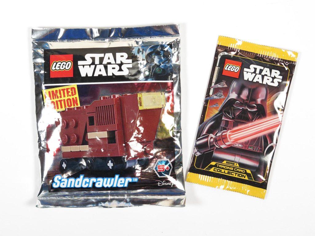 LEGO® Star Wars™ Comic 11 - Extras - Polybag und Sammelkarten | ©2018 Brickzeit
