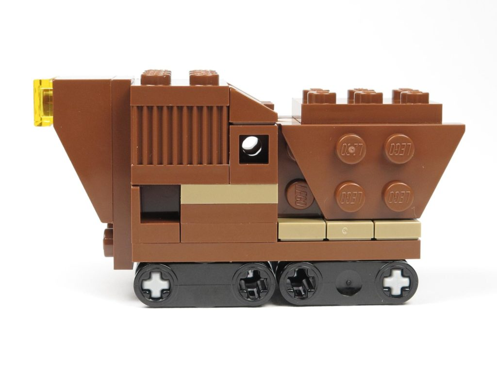LEGO® Star Wars™ Comic 11 - Sandcrawler - linke Seite | ©2018 Brickzeit