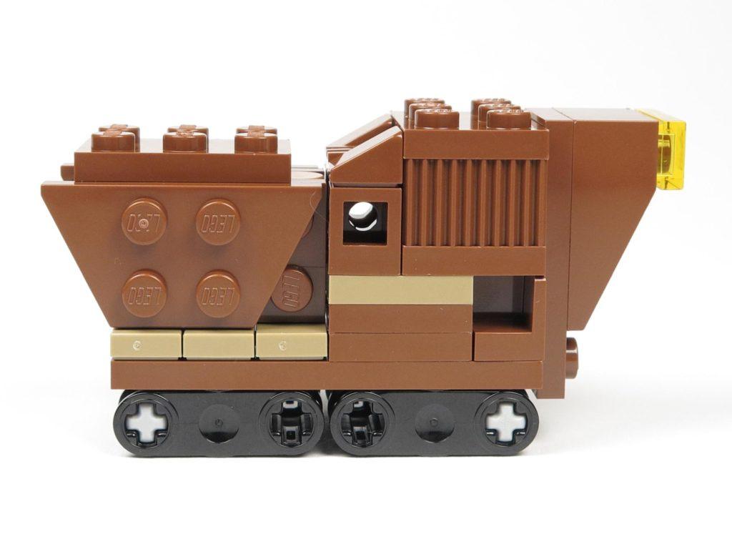 LEGO® Star Wars™ Comic 11 - Sandcrawler - rechte Seite | ©2018 Brickzeit
