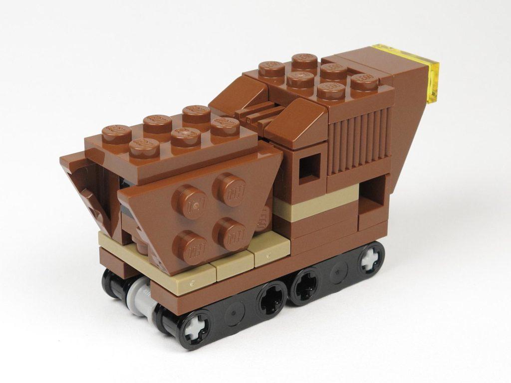 LEGO® Star Wars™ Comic 11 - Sandcrawler - rechts hinten | ©2018 Brickzeit