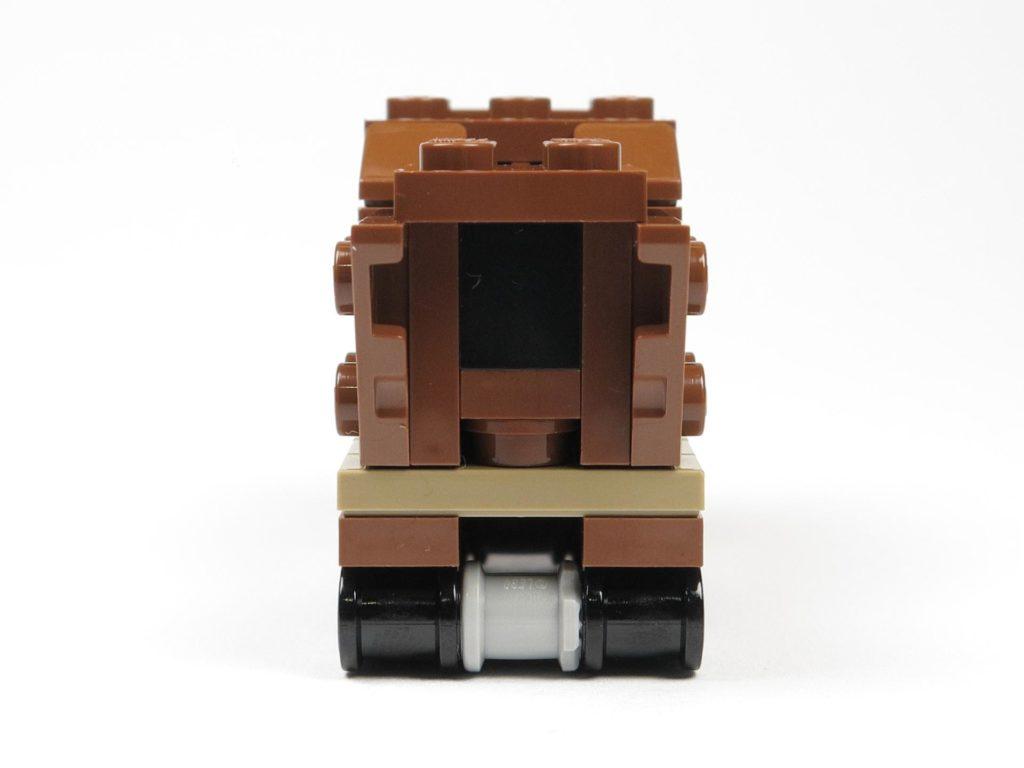 LEGO® Star Wars™ Comic 11 - Sandcrawler - Rückseite | ©2018 Brickzeit