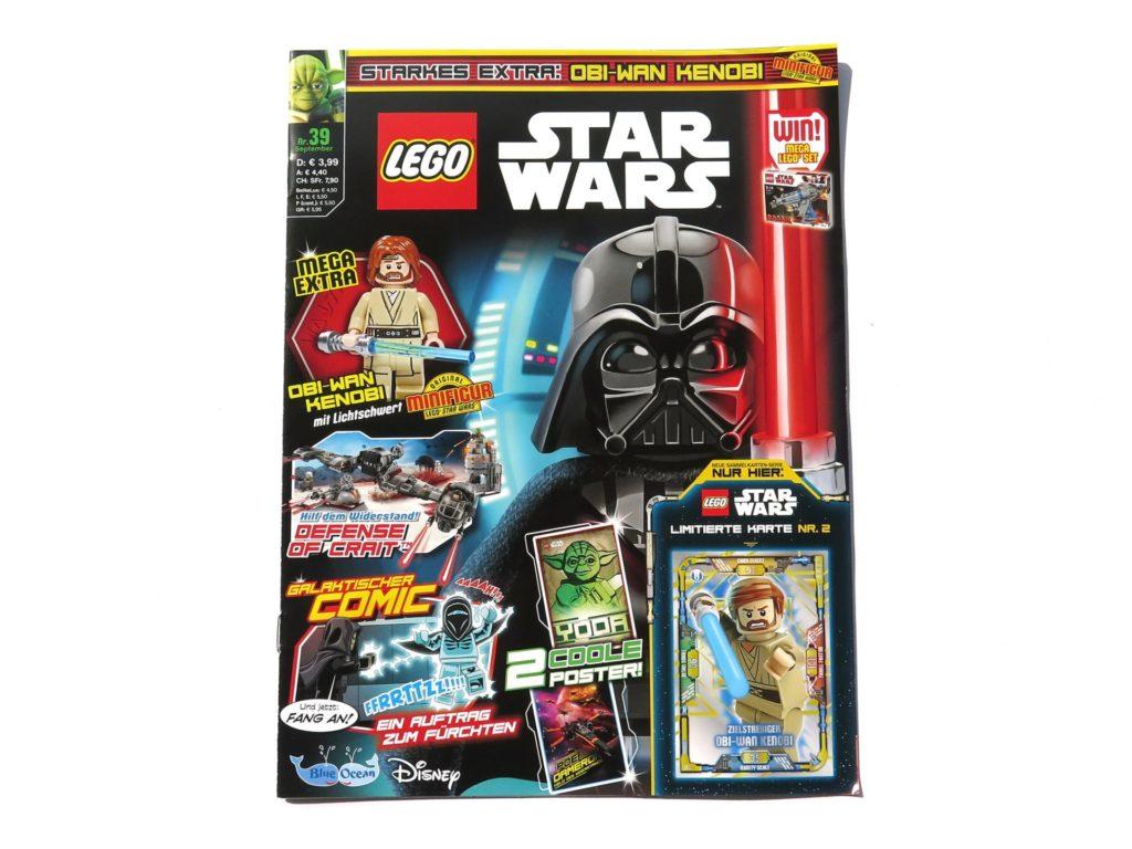 LEGO® Star Wars™ Magazin Nr. 39 - Cover ohne Extras | ©2018 Brickzeit