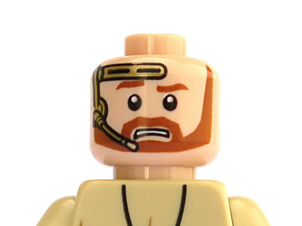 LEGO® Star Wars™ Magazin Nr. 39 - Obi-Wan Kenobi, Gesicht | ©2018 Brickzeit