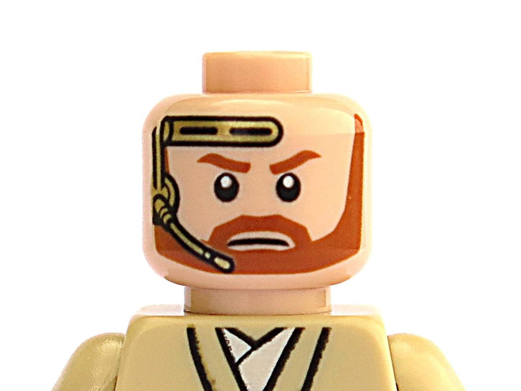LEGO® Star Wars™ Magazin Nr. 39 - Obi-Wan Kenobi, alternatives Gesicht | ©2018 Brickzeit