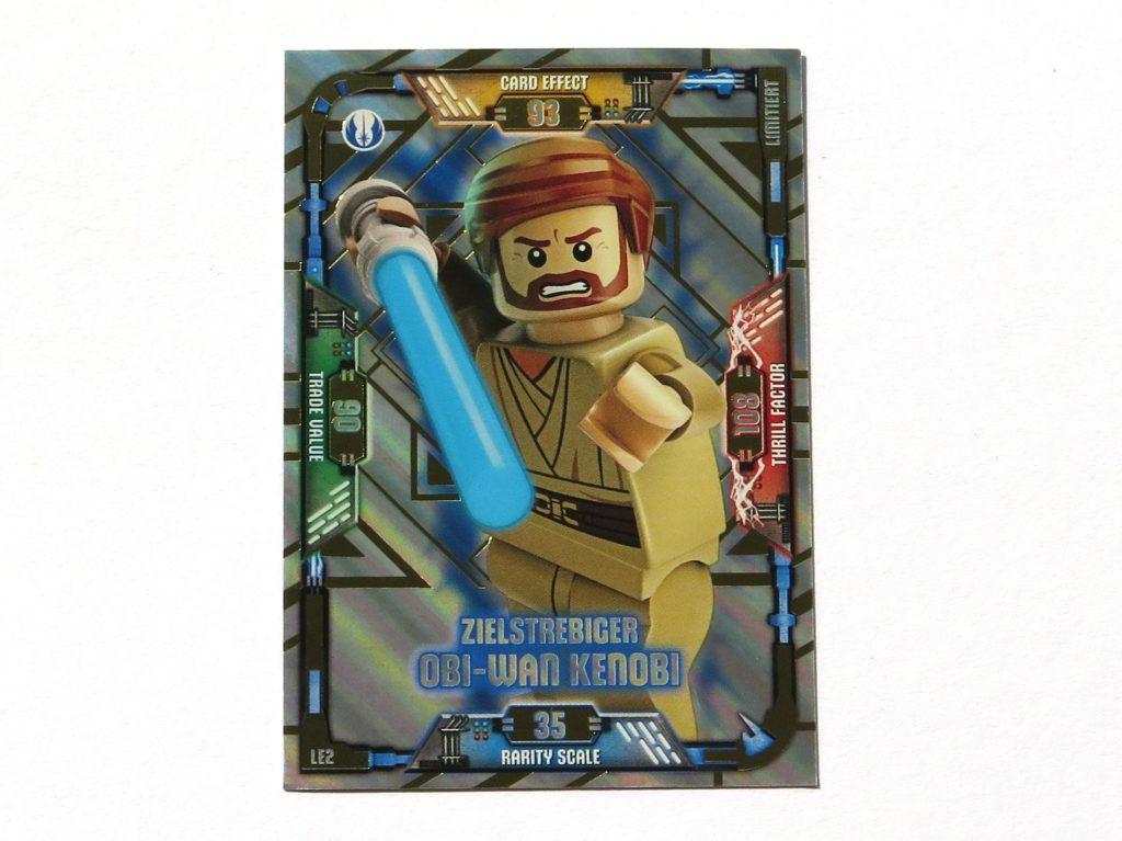 LEGO® Star Wars™ Magazin Nr. 39 - Sammelkarte Obi-Wan Kenobi | ©2018 Brickzeit