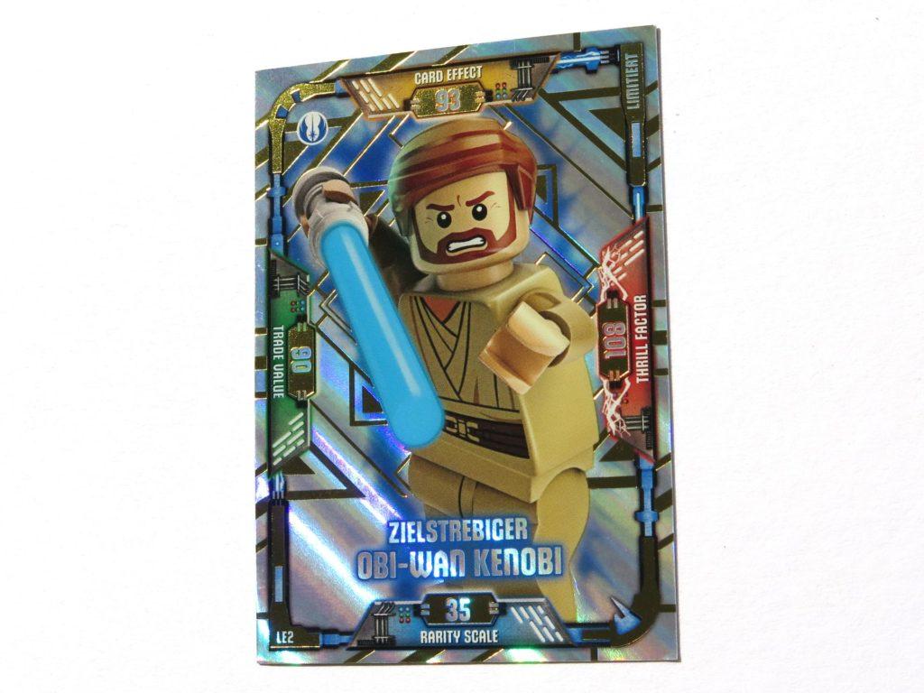 LEGO® Star Wars™ Magazin Nr. 39 - Sammelkarte Obi-Wan Kenobi, schräg | ©2018 Brickzeit