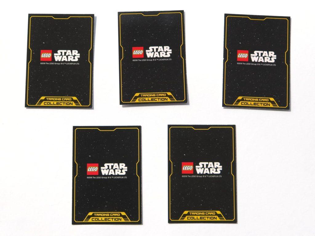 LEGO® Star Wars™ Magazin Nr. 39 - Sammelkarten, Rückseite | ©2018 Brickzeit