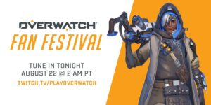 Ankündigung Twitch Live Stream vom Fan Festival | ©Blizzard Entertainment