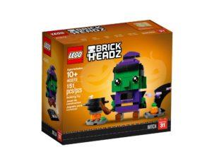 LEGO Brickheadz Halloween-Hexe 40272 - Packung Vorderseite | ©LEGO Gruppe