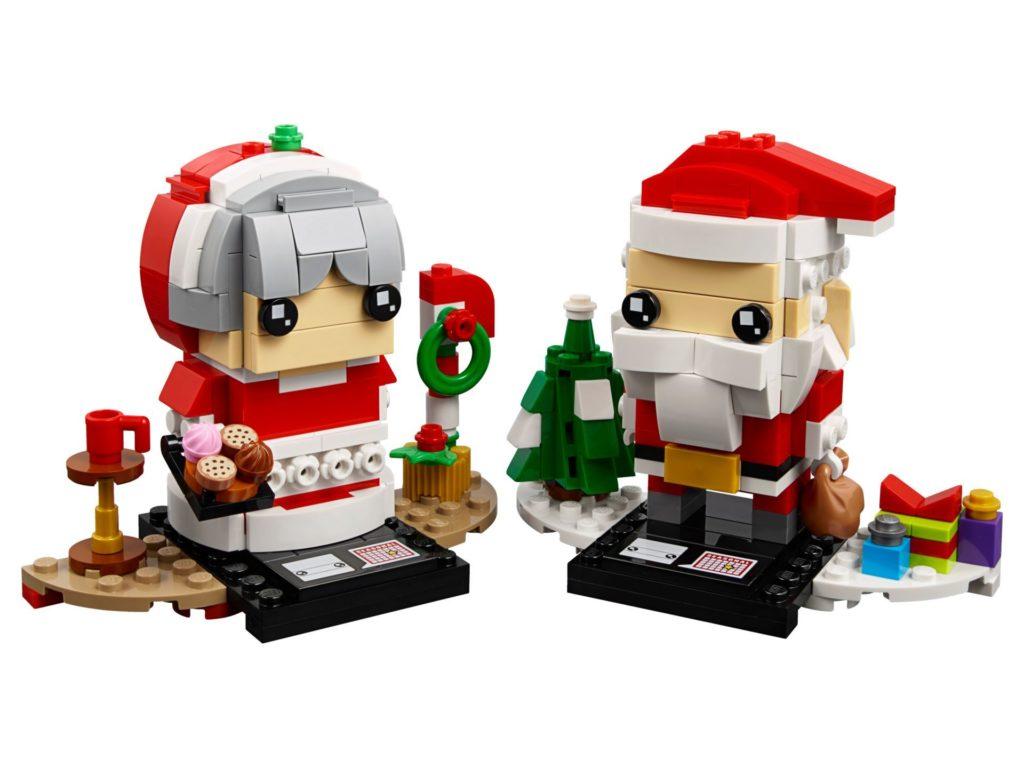 LEGO® Brickheadz™ Herr und Frau Weihnachtsmann 40274 - Set | ©LEGO Gruppe
