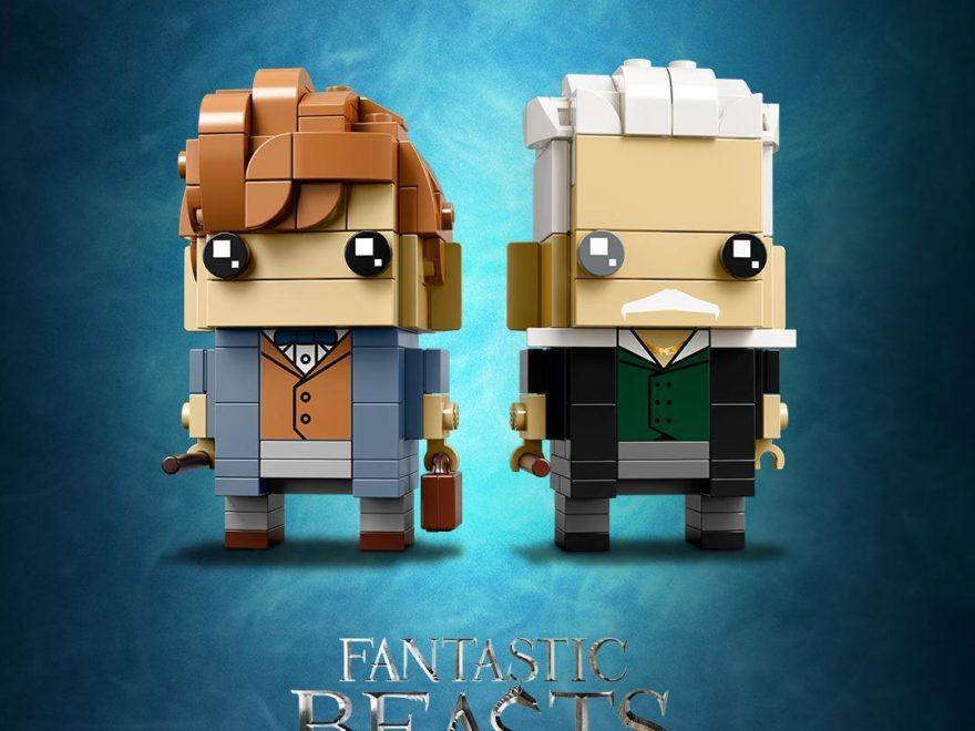 LEGO® Brickheadz Newt Scamander und Gellert Grindelwald 41631 | ©LEGO Gruppe