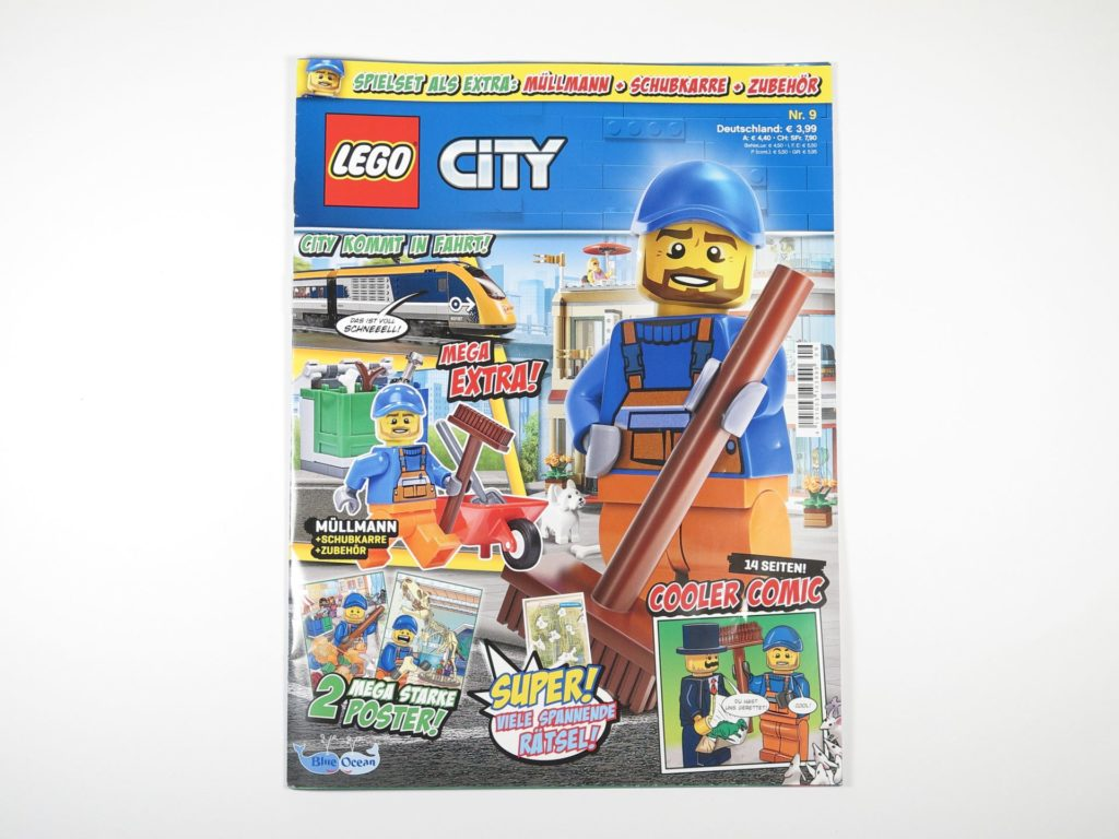 LEGO® City Magazin Nr. 9 - Cover | ©2018 Brickzeit