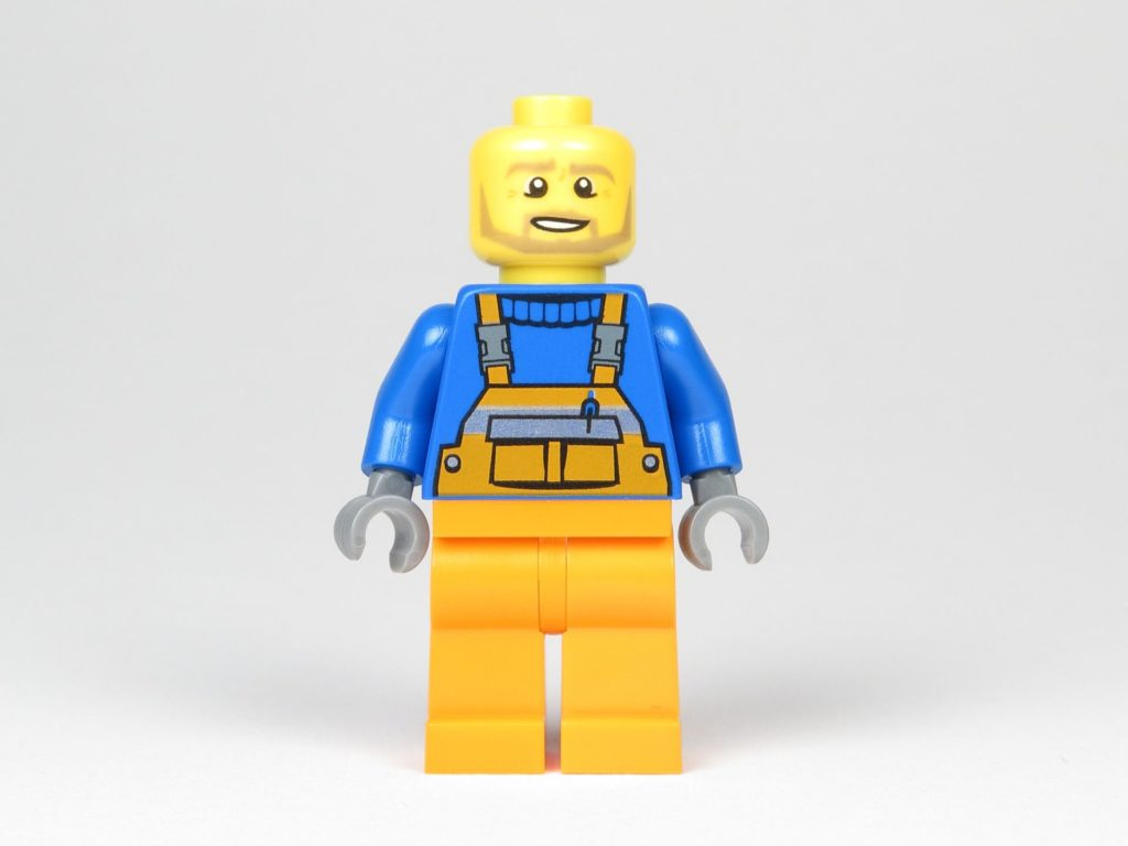 LEGO® City Magazin Nr. 9 - Müllmann ohne Kopfbedeckung | ©2018 Brickzeit