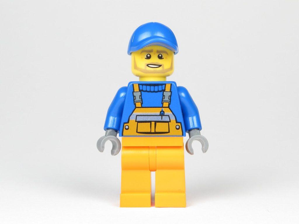 LEGO® City Magazin Nr. 9 - Müllmann Vorderseite | ©2018 Brickzeit