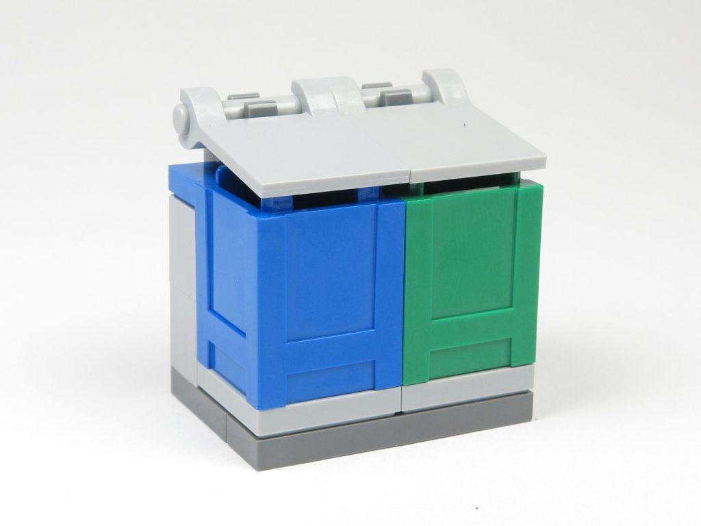 LEGO® City Magazin Nr. 9 - Mülltonnen geschlossen | ©2018 Brickzeit