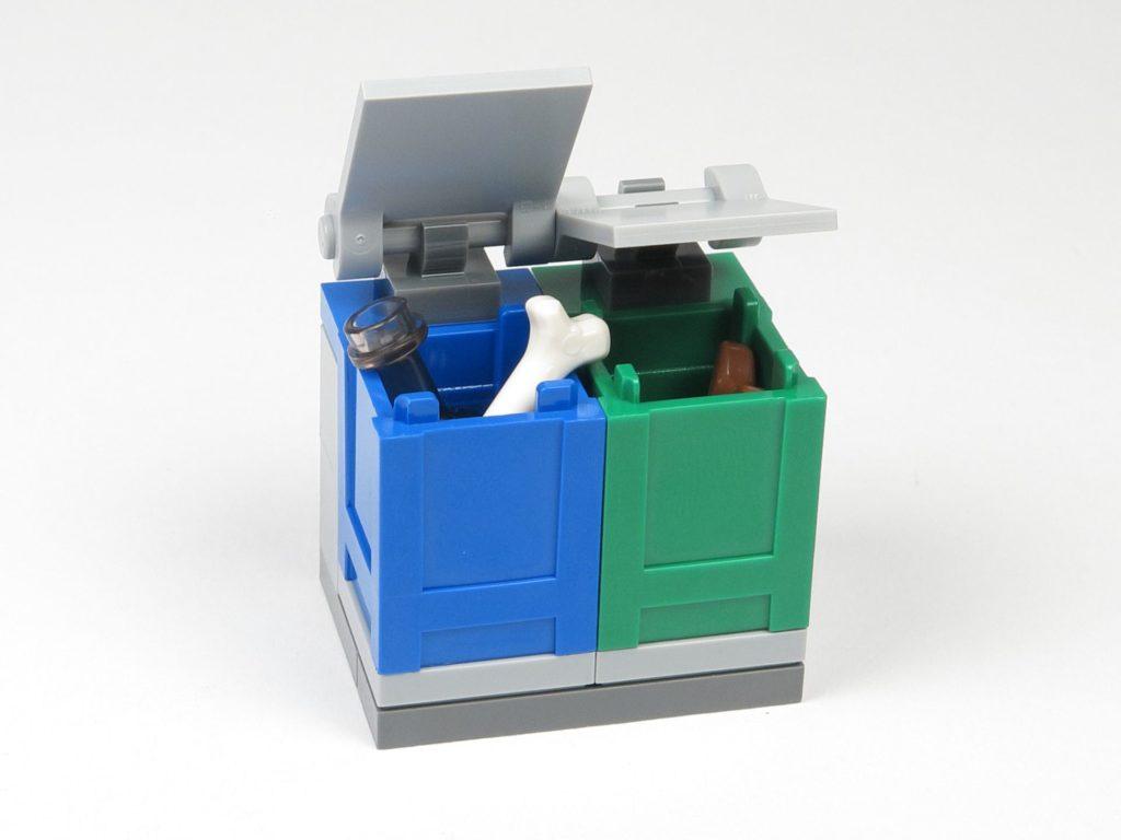 LEGO® City Magazin Nr. 9 - Mülltonnen offen | ©2018 Brickzeit
