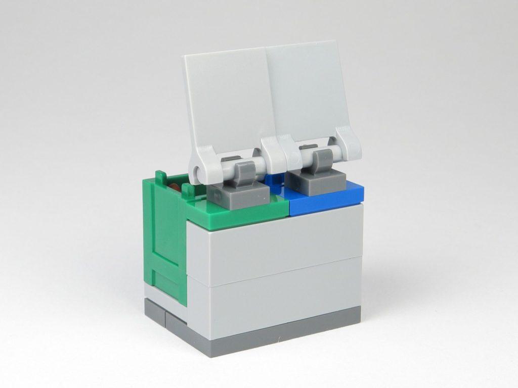 LEGO® City Magazin Nr. 9 - Mülltonnen Rückseite | ©2018 Brickzeit