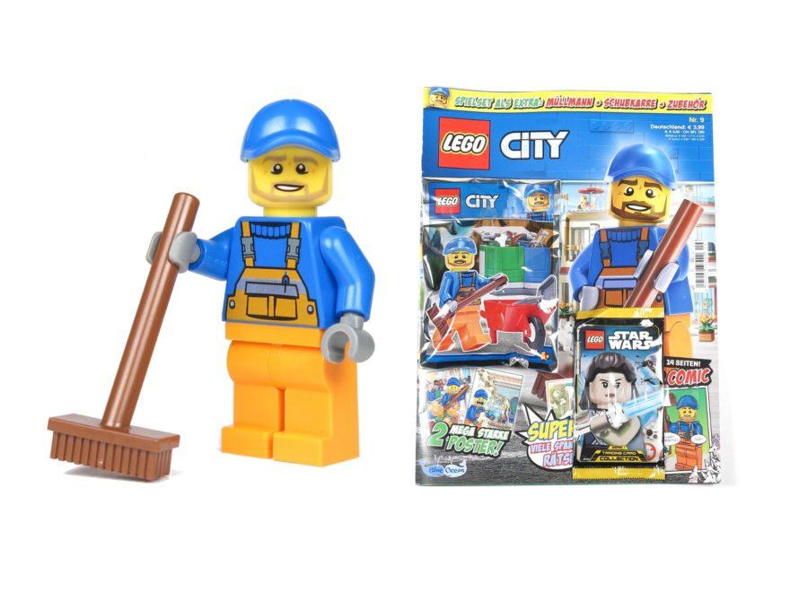 LEGO® City Magazin Nr. 9 - Titelbild | ©2018 Brickzeit