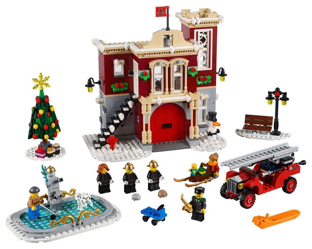 LEGO® Creator Expert 10263 Winter Village Fire Station 10263 - Bild 1 | ©LEGO Gruppe