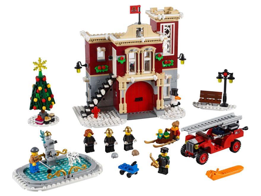LEGO® Creator Expert 10263 Winter Village Fire Station - Titelbild | ©LEGO Gruppe