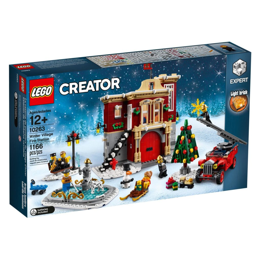 LEGO® Creator Expert 10263 Winter Village Fire Station 10263 - Packung Vorderseite | ©LEGO Gruppe