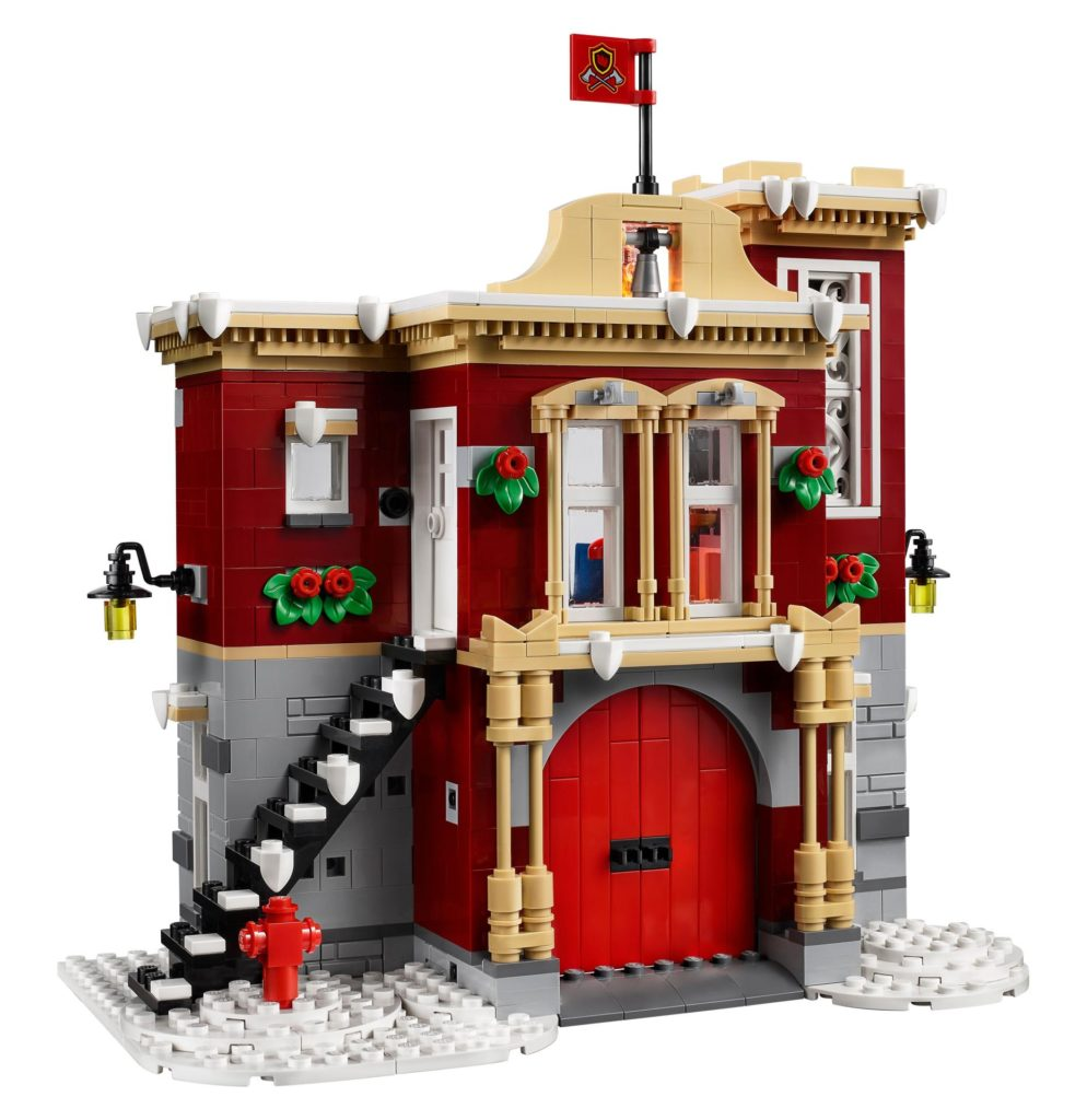 LEGO® Creator Expert 10263 Winter Village Fire Station 10263 - Bild 3 | ©LEGO Gruppe