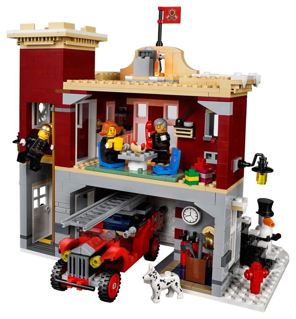 LEGO® Creator Expert 10263 Winter Village Fire Station 10263 - Bild 4 | ©LEGO Gruppe
