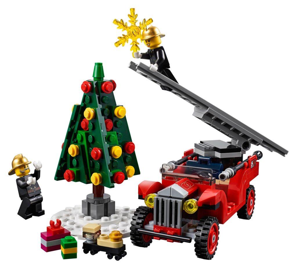 LEGO® Creator Expert 10263 Winter Village Fire Station 10263 - Bild 9 | ©LEGO Gruppe