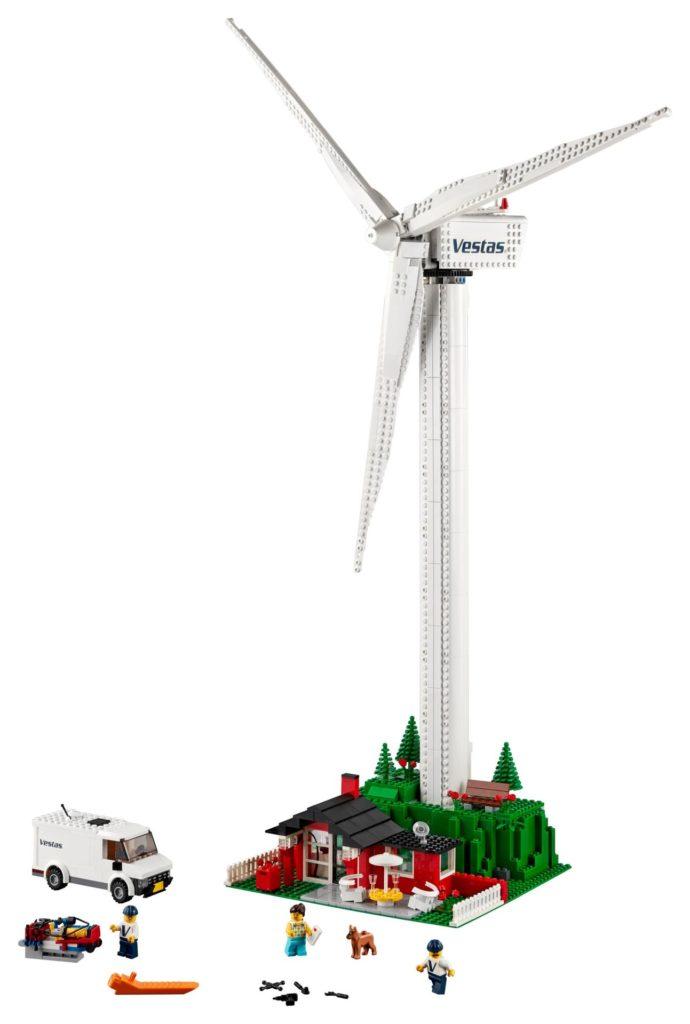 LEGO® Creator Expert 10268 Vestas® Windkraftanlage - Bild 2 | ©LEGO Gruppe
