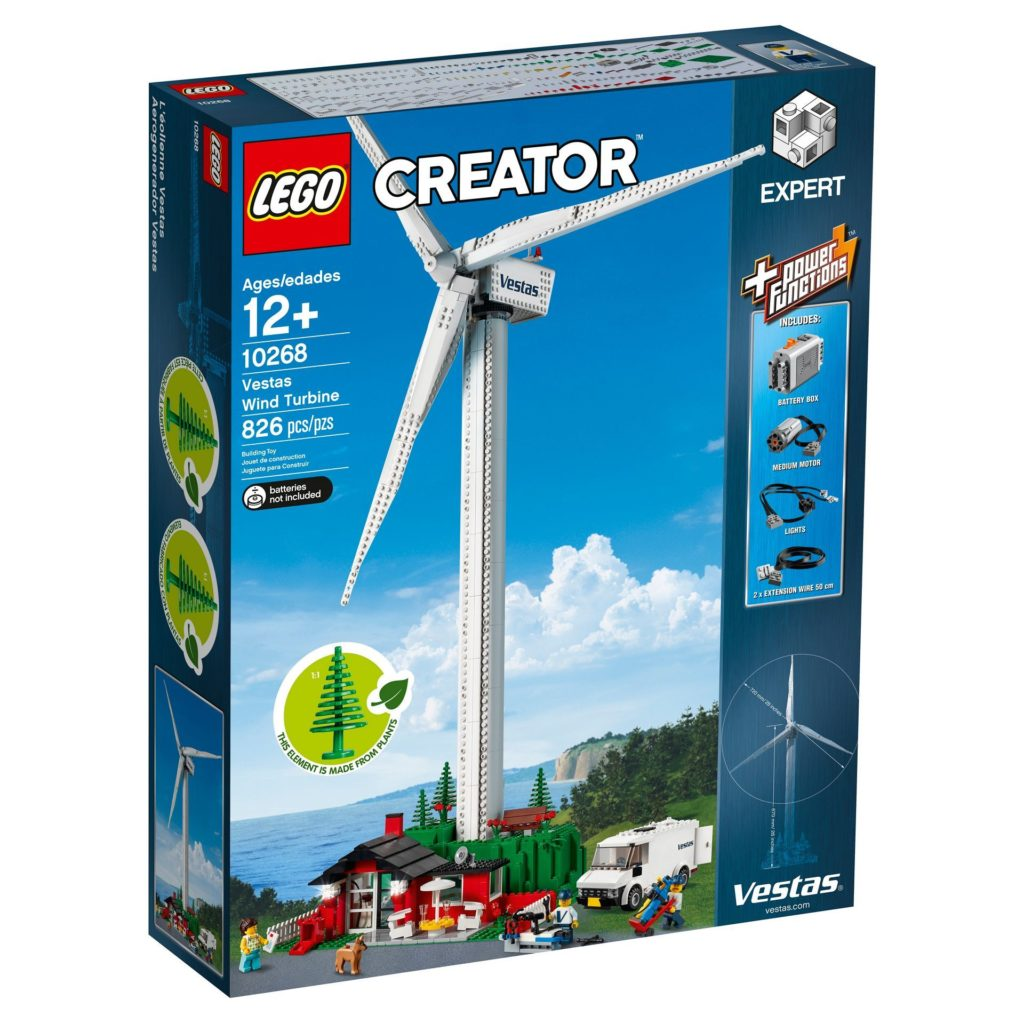 LEGO® Creator Expert 10268 Vestas® Windkraftanlage - Bild 3 | ©LEGO Gruppe