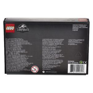 LEGO® Jurassic World Minifiguren Set 5005255 - Packung Rückseite | ©LEGO Gruppe