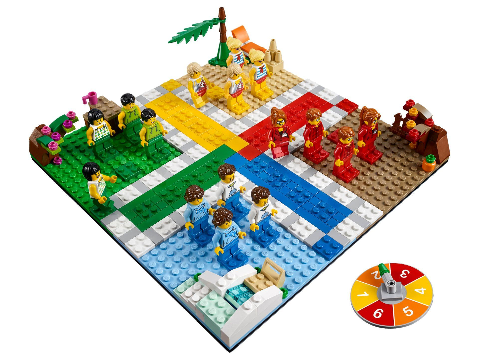 LEGO® Ludo-Spiel 40198 - Set | ©LEGO Gruppe