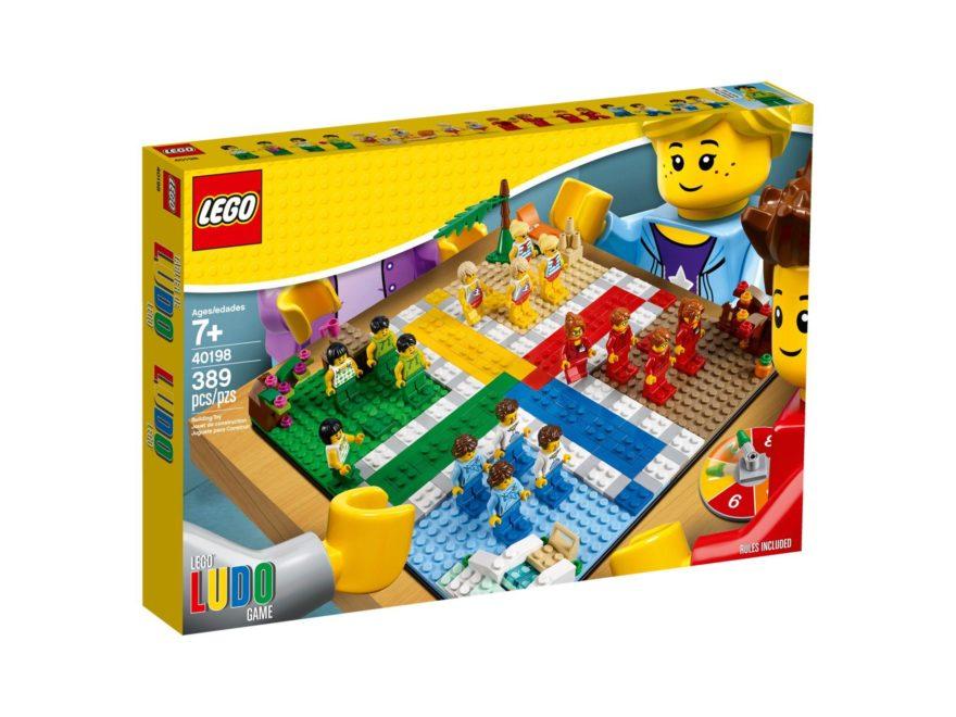 LEGO® Ludo-Spiel 40198 - Packung Vorderseite | ©LEGO Gruppe