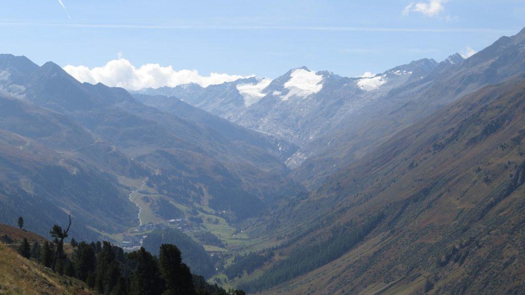 Blick auf die Oetztaler Alpen | ©2018 Brickzeit