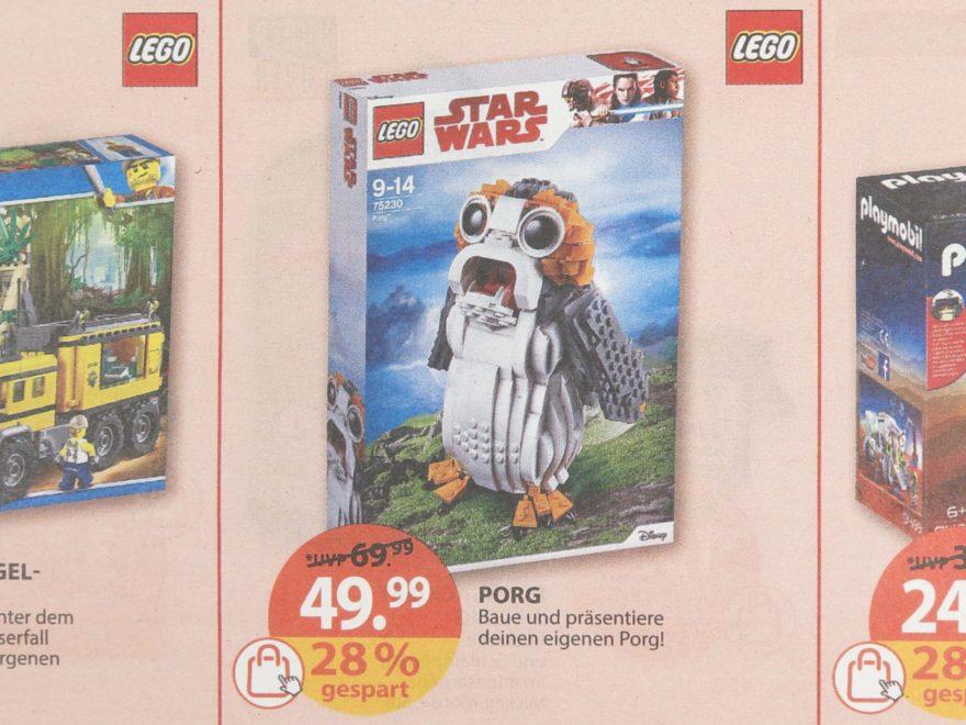 Müller Angebot für LEGO Star Wars 75230 Porg