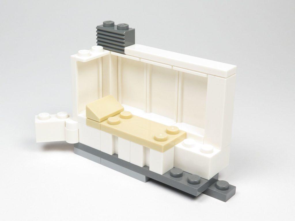 LEGO® Star Wars™ 75203 - Bauabschnitt 1 - Bett und Wand | ©2018 Brickzeit