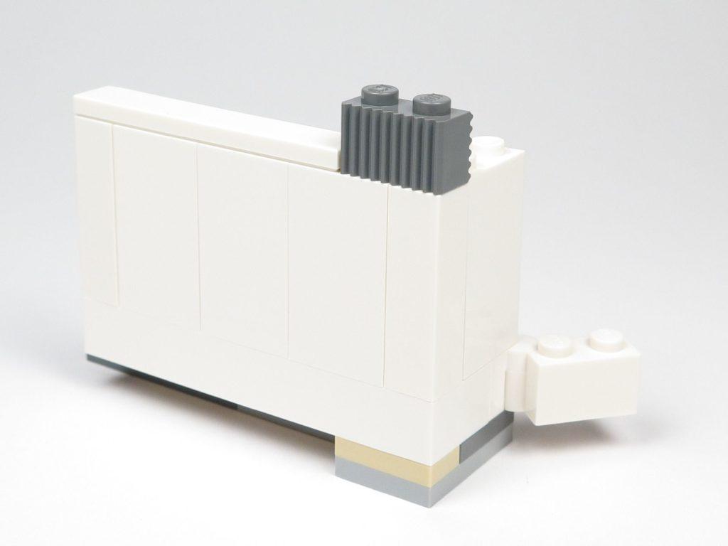LEGO® Star Wars™ 75203 - Bauabschnitt 1 - Bett und Wand Rückseite | ©2018 Brickzeit