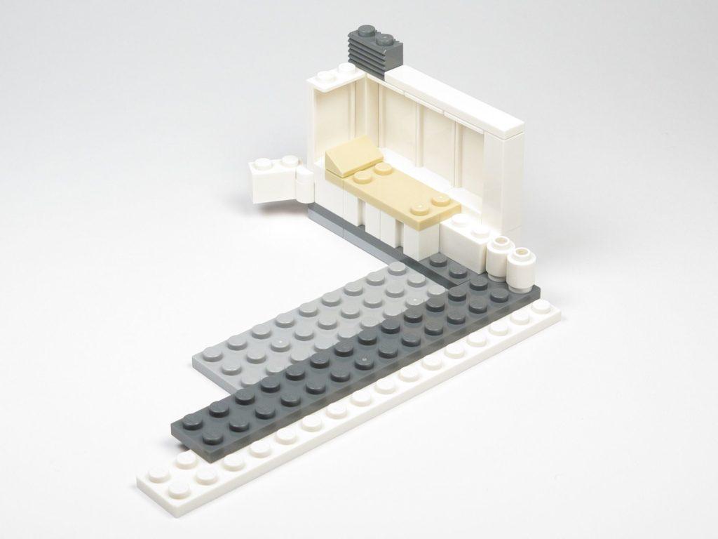 LEGO® Star Wars™ 75203 - Bauabschnitt 1 - Grundfläche für Anbau | ©2018 Brickzeit