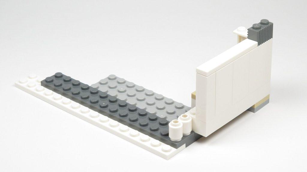 LEGO® Star Wars™ 75203 - Bauabschnitt 1 - Grundfläche für Anbau Rückseite | ©2018 Brickzeit
