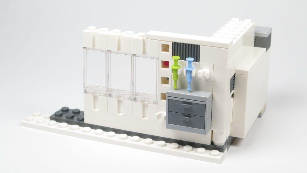LEGO® Star Wars™ 75203 - Bauabschnitt 1 - Fenster, Außenseite | ©2018 Brickzeit