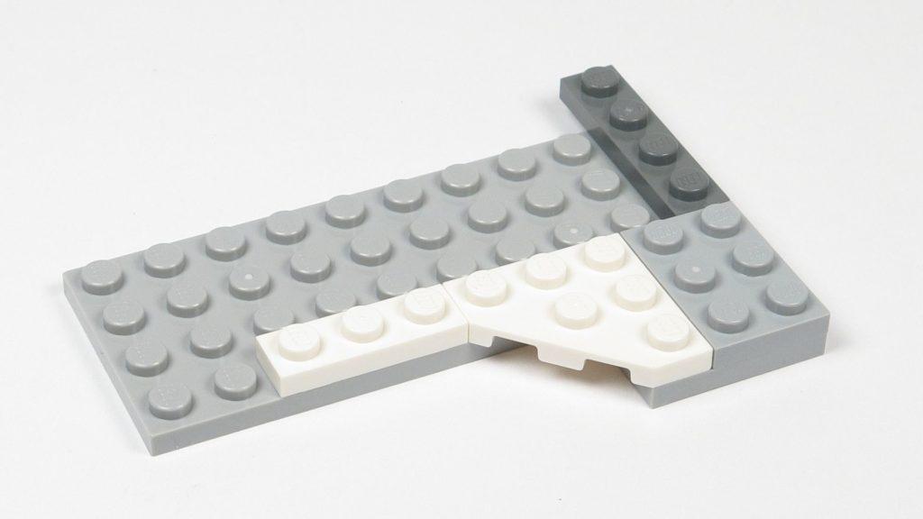 LEGO® Star Wars™ 75203 - Bauabschnitt 2 - Erste Fläche | ©2018 Brickzeit