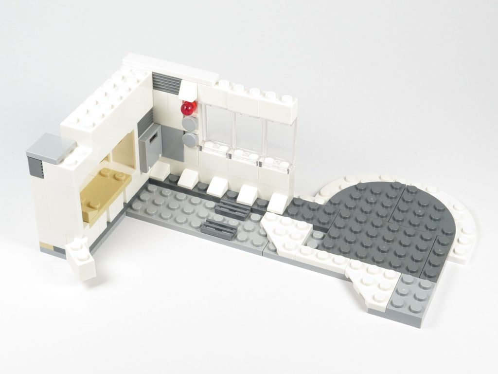 LEGO® Star Wars™ 75203 - Bauabschnitt 2 - runder Bereich, Innenseite | ©2018 Brickzeit