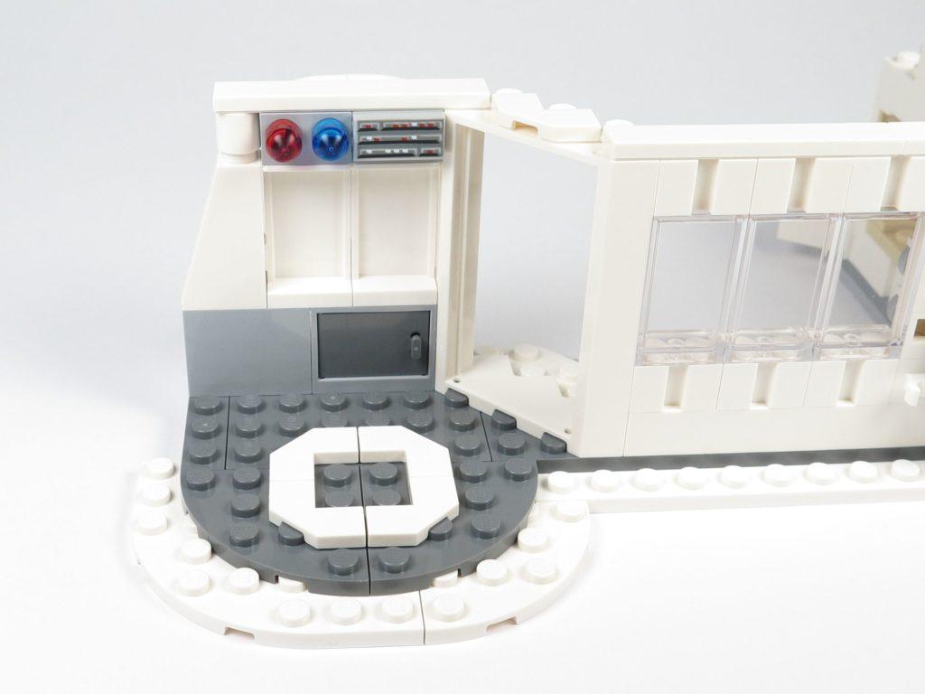 LEGO® Star Wars™ 75203 - Bauabschnitt 2 - Außenbereich erweitert | ©2018 Brickzeit