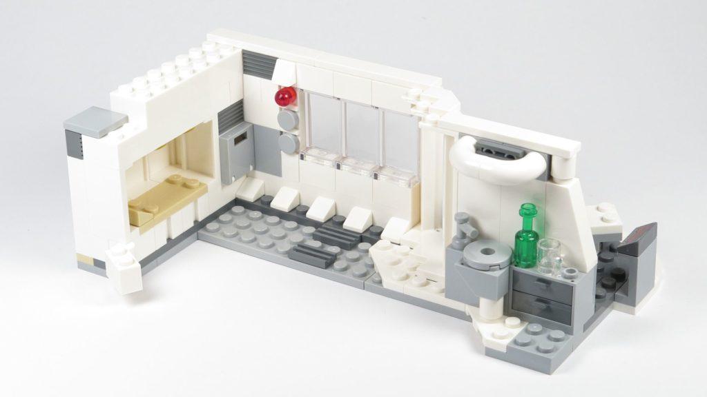 LEGO® Star Wars™ 75203 - Bauabschnitt 2 - Innenbereich fertig | ©2018 Brickzeit
