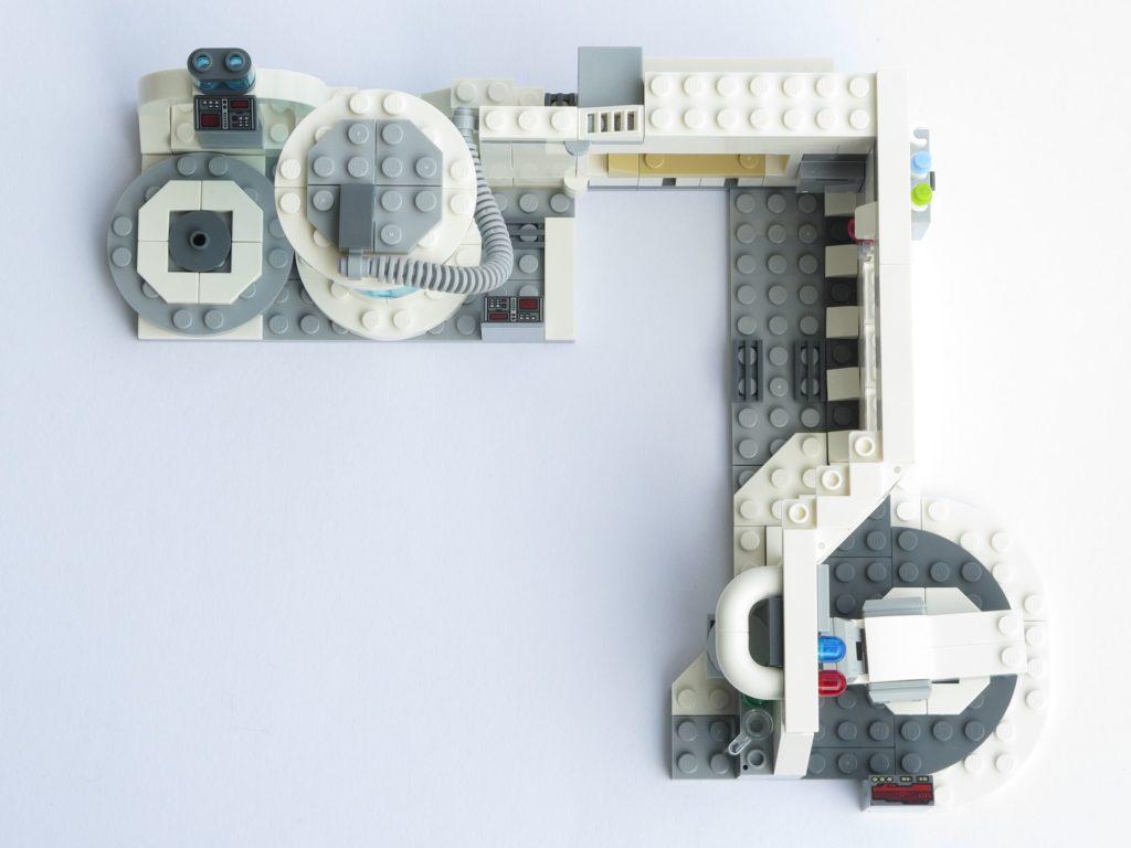 LEGO® Star Wars™ 75203 - fertiges Set - geöffnet, Draufsicht | ©2018 Brickzeit