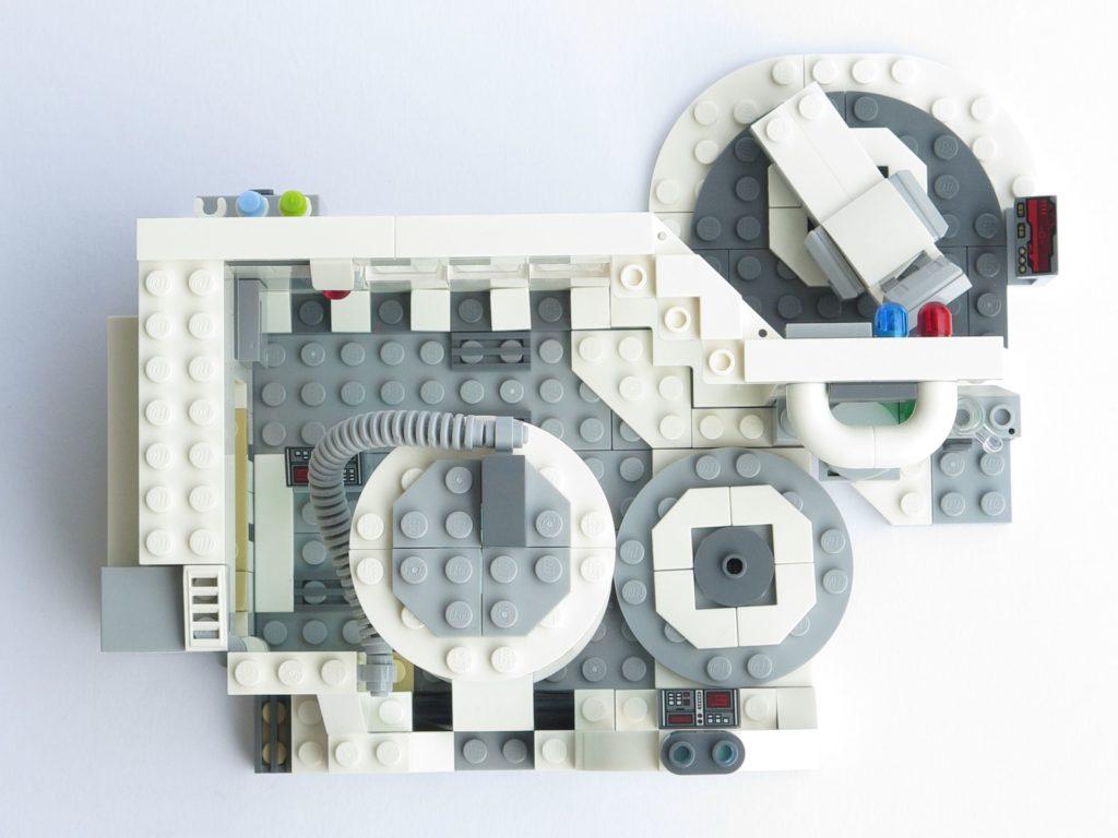 LEGO® Star Wars™ 75203 - fertiges Set - geschlossen, Draufsicht | ©2018 Brickzeit
