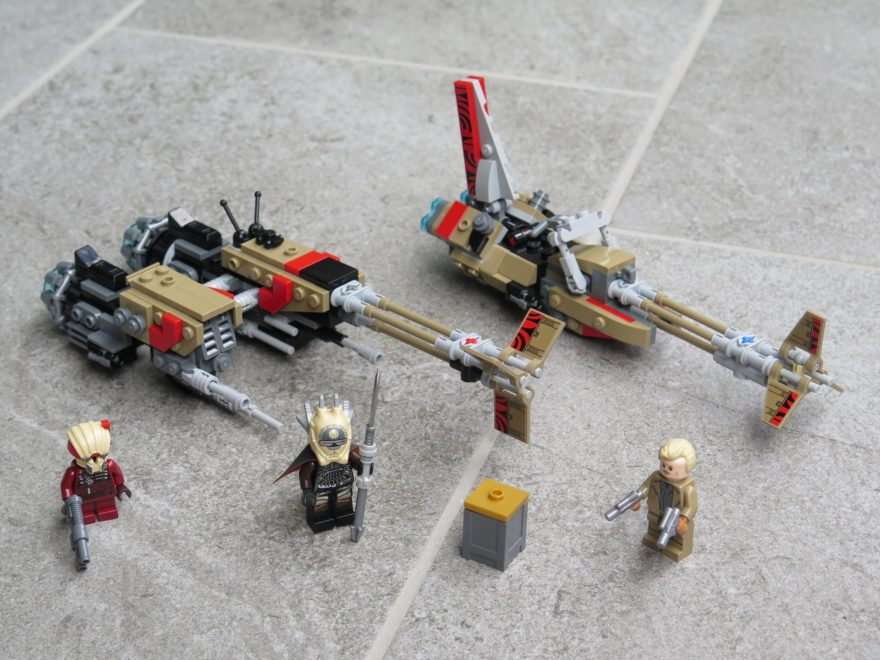 LEGO® Star Wars™ 75215 Cloud-Rider Swoop Bikes™ - Set | ©2018 Brickzeit