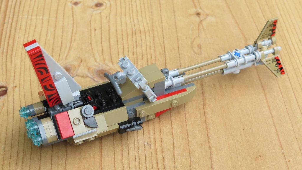 LEGO® Star Wars™ 75215 - Enfys Nest's Swoop Bike - rechts, hinten | ©2018 Brickzeit